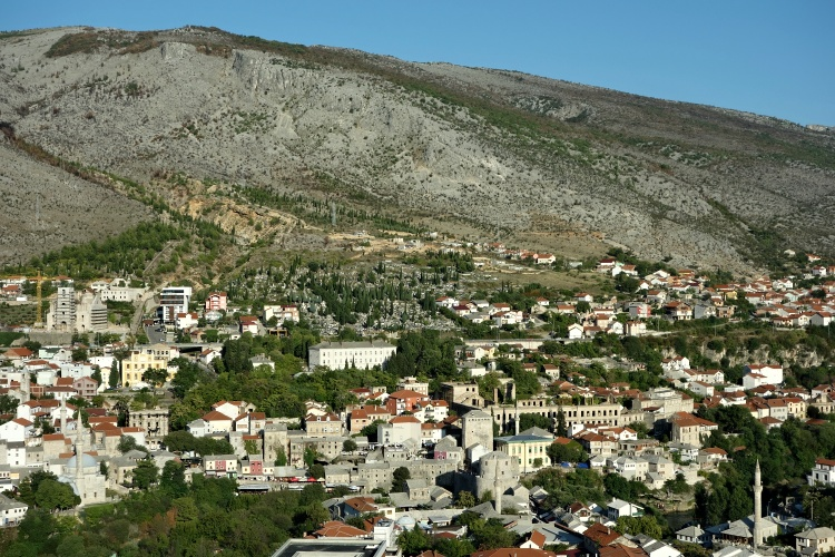 You can get some of the best views of Mostar in the Peace Bell Tower