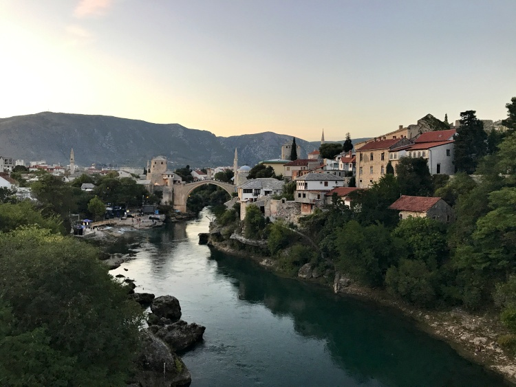 The iconic Old Bridge in Mostar is a UNESCO World Heritage Site