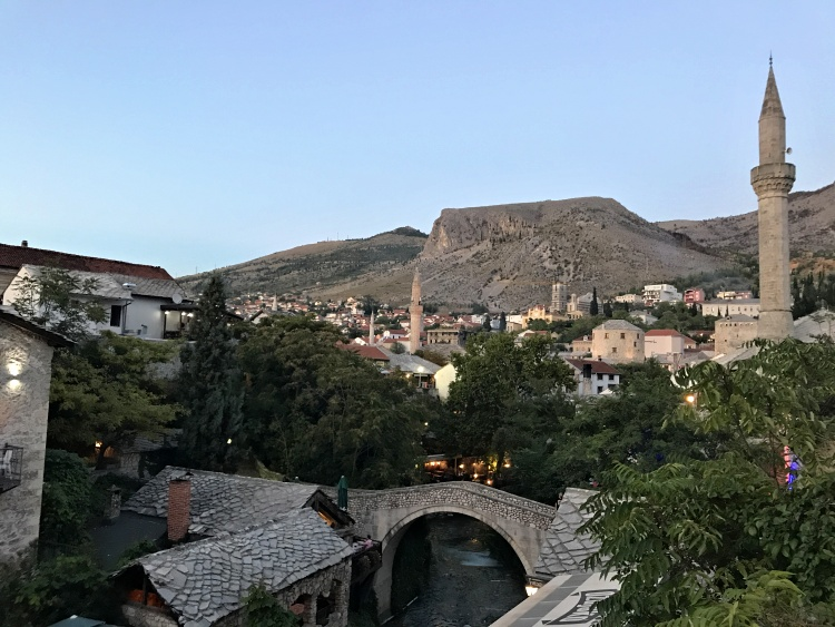 Mostar is a multicultural city where East meets West