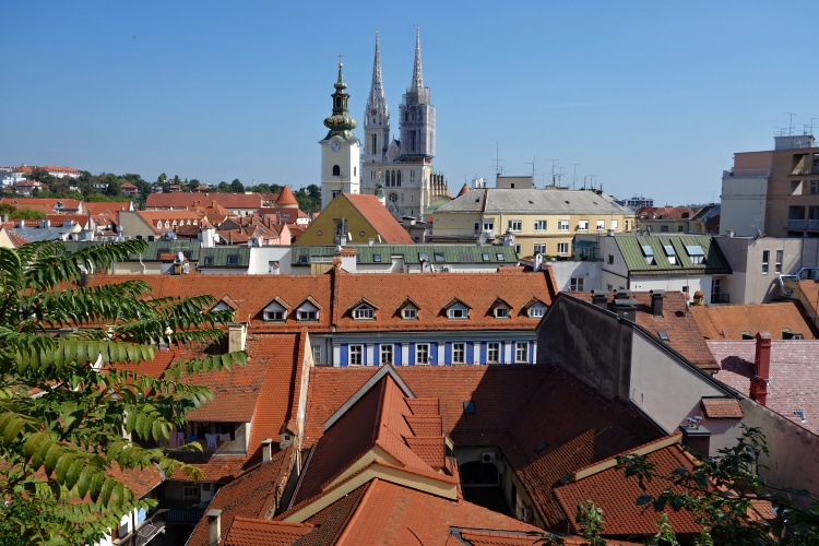 The Upper Town is the historical core of Zagreb