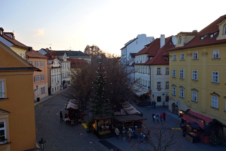 You can find many various Christmas markets across the city