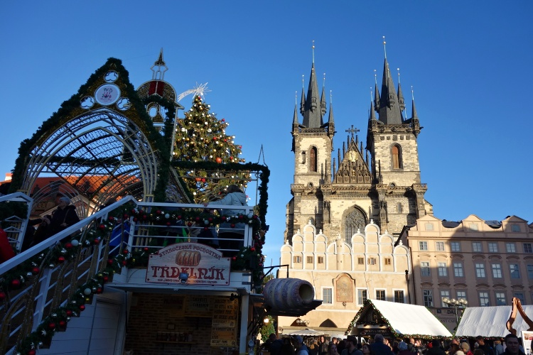 Prague becomes even more magical during Christmas time