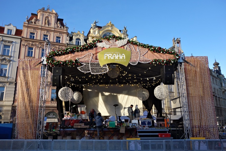 There are concerts taking places in most Christmas markets
