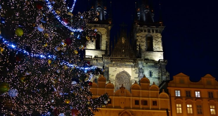 Christmas markets Prague