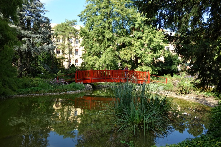 The Zagreb Botanical Garden is home to over 10,000 types of plants