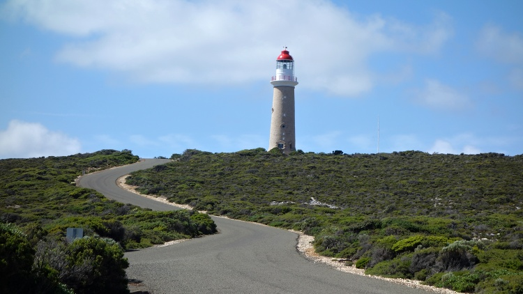 Standing by the Cape du Couedic Lighthouse feels like being at the end of the world