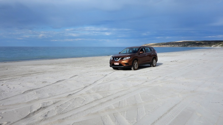 Have you ever driven on a beach? You can do it in Emu Bay.