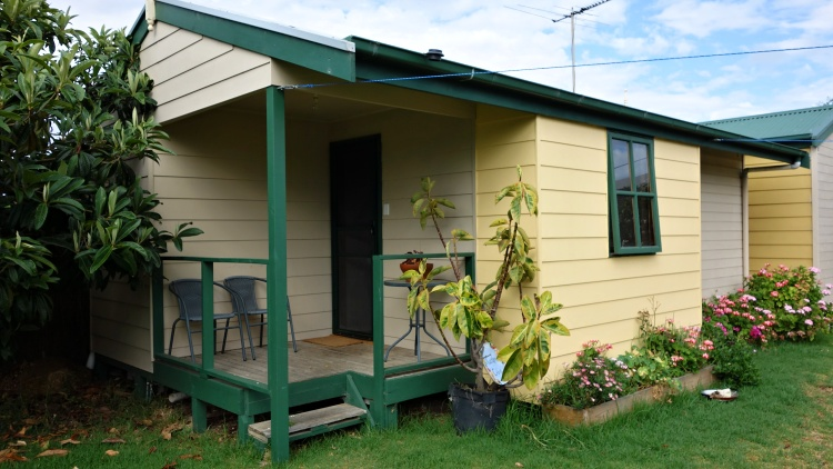 We enjoyed our stay in the garden cabin of KI Dragonfly Guesthouse in Kingscote