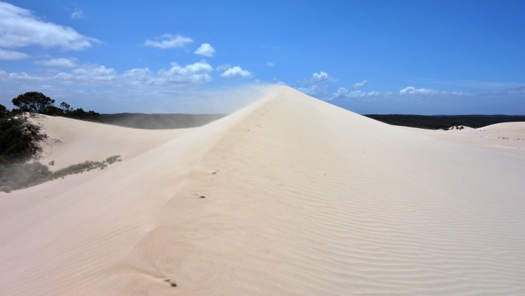 There is even a little desert on Kangaroo Island