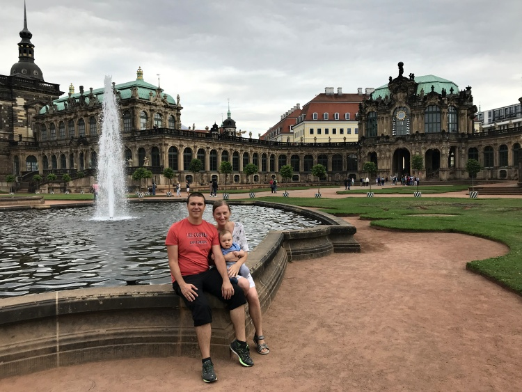 Exploring the beautiful city of Dresden