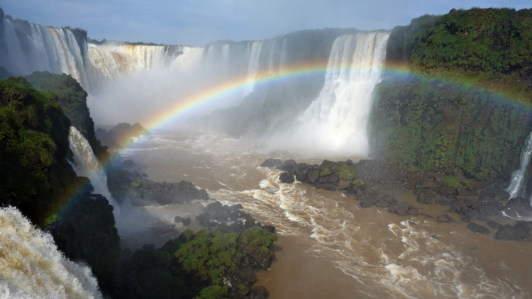 Visit both sides of Iguazu Falls to see them from different perspectives