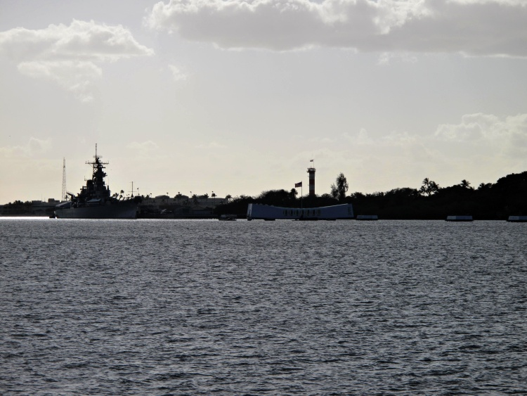 We have seen the Battleship Missouri and USS Arizona Memorials only from the distance