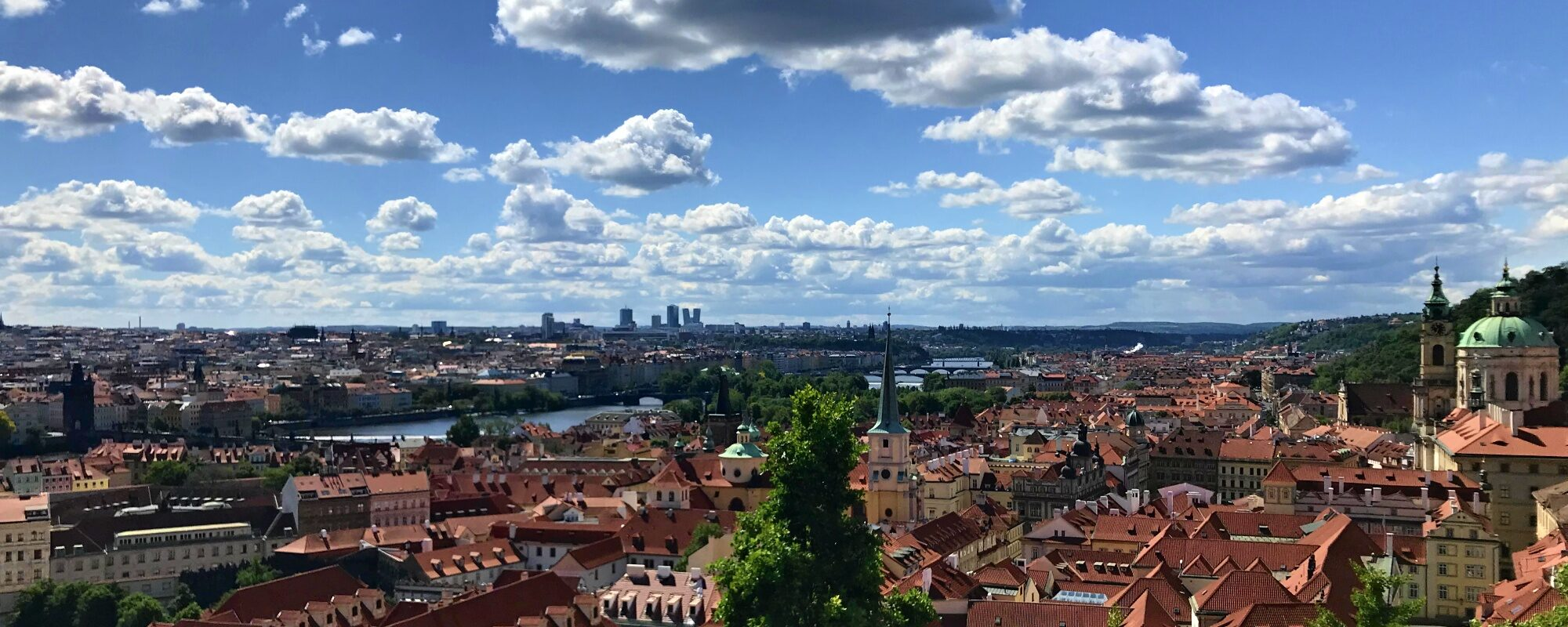 Prague Czechia Cityscape